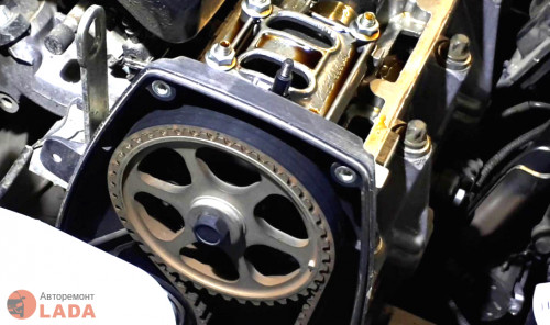 Регулировка 8 клапанника на Лада Гранта